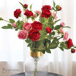 여왕의 꽃 바인 장미 가지 (2color) - 실크플라워 인테리어조화