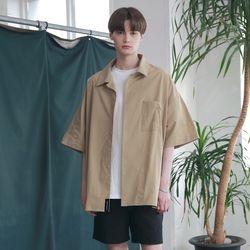 [무료배송] Oversize Washed Linen Shirts Beige