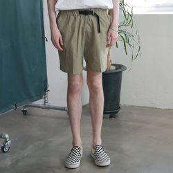 [무료배송] Utility Washed Linen Short Pants Khaki