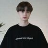 General Oversize T-shirts Black