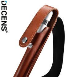 데켄스 AA002 애플펜슬 1세대 2세대 가죽 밴딩 포켓