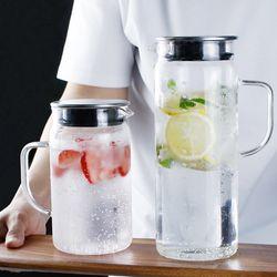 마린글라스 내열유리 아이스 냉장고물병 1300ml (대)