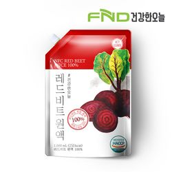 [무료배송] FND건강한오늘 레드비트 착즙원액 1L