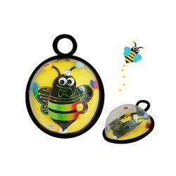 DIY만들기수업 꿀벌 스크래치 종이 반구액자 5인용