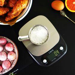 리브라 정밀 전자저울 이유식 다이어트용 LS450(타이머)