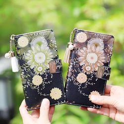아이폰8플러스 Encanto-Chic2-T 지퍼 지갑 다이어리 케이스