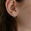 501 EARRINGS [SILVER]