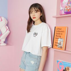 Traveler Half T-Shirt (white)