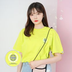 Earth Logo Campaign T-Shirt (neon)