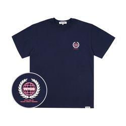 Earth Logo Campaign T-Shirt (navy)
