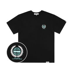 Earth Logo Campaign T-Shirt (black)