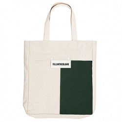 BLANK ECO BAG (WH-GR)