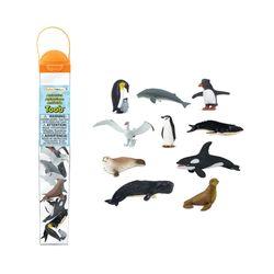 100113남극동물 피규어모음 튜브