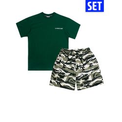 [1+1] SHORT SLEEVE + PANTS SET No.2