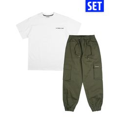 [1+1] SHORT SLEEVE + PANTS SET No.3