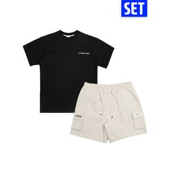 [1+1] SHORT SLEEVE + PANTS SET No.4