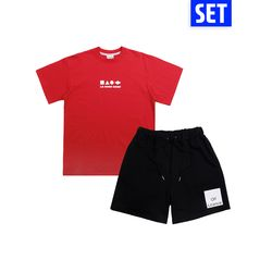 [1+1] SHORT SLEEVE + PANTS SET No.6