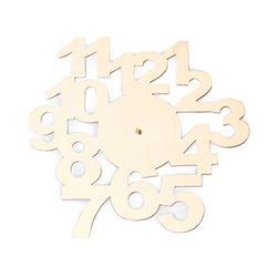 2500 나무시계-숫자판[DW 1527]