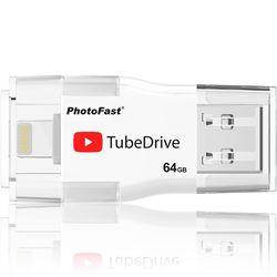 PhotoFast 아이폰 OTG USB TubeDrive 64GB