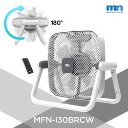선풍기 180도 회전 공기순환 롤링팬 리모컨 그레이 MFN-I30BRCW