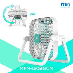 선풍기 180도 회전 공기순환 롤링팬 로고 민트 MFN-I30BGCM