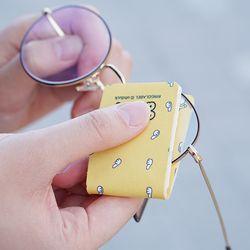오우덕 휴대용 초극세사 안경닦이 (깔끔 케이스 포함)