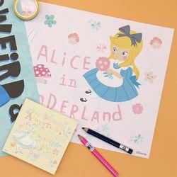 디즈니 앨리스 양면랩핑지