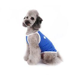 강아지옷 쿨썸머 나시 -블루