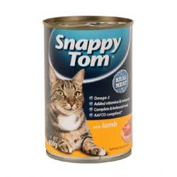 스내피톰 캣 위드 램 400gx12 고양이 간식고양이 캔