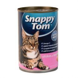 스내피톰 치킨 위드 튜나 프레이크 400g  고양이 간식고양이 캔
