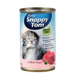 베이비 스내피톰 비프 피스트 150g 고양이 간식고양이 캔