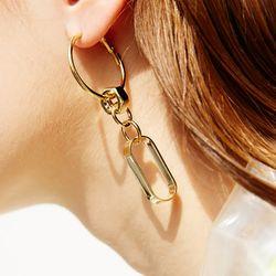 708 EARRINGS [GOLD]