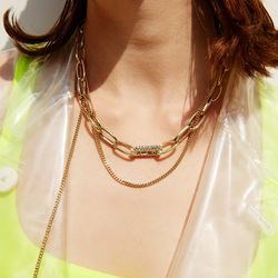 710 NECKLACE [GOLD]