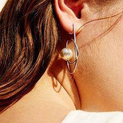 713 EARRINGS [SILVER]
