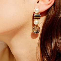 714 EARRINGS [GOLD]