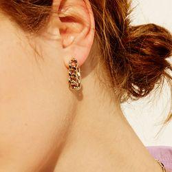 720 EARRINGS [GOLD]