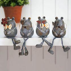 보타이 앉은 개구리 4종