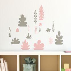 나뭇잎패턴 (S723) 포인트 데코 스티커
