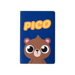 테디아일랜드 스티치노트(소)-피코