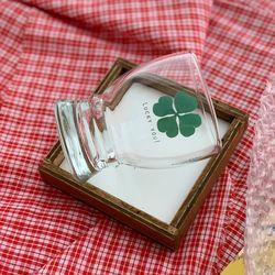 커먼키친 Special Edition Clover glass