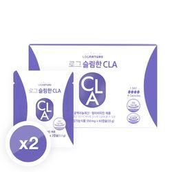 로그 슬림한 CLA 공액리놀레산 2박스 120캡슐 30일분