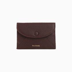 W019 엔벨롭 카드 명함 지갑 버건디