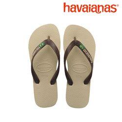 공식정품 하바이아나스 브라질로고-샌드그레이 41108500154