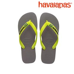 공식정품 하바이아나스 브라질로고-그레이레몬그린 41108502621