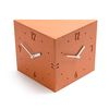 트윈벽시계(오렌지)
