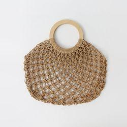 Rattan Ring Handle Bag