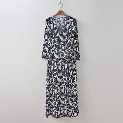 Palace Wrap Long Dress - 긴팔