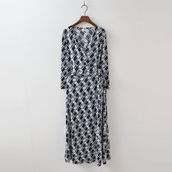 Lemongrass Wrap Long Dress - 긴팔