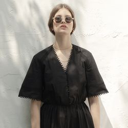 SORENTO LACE DRESS BLACK