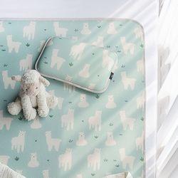 뽀글이라마 3D 에어매쉬 아기 쿨매트 세트
